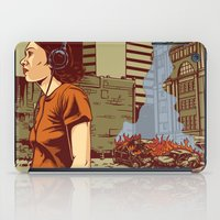 portland iPad Cases featuring Locals Only - Portland, OR by Joshua Kemble