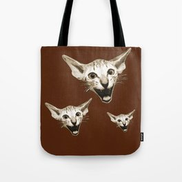 The Laughing Cat Tote Bag