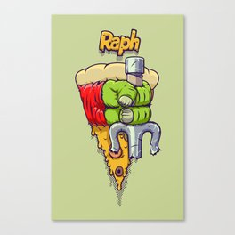 Hands of the Heroes: Raphael TMNT Canvas Print