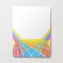 Disco Floor Metal Print