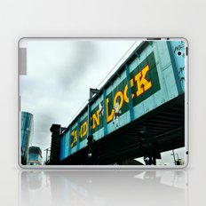 London Camden Town rail bridge Laptop & iPad Skin