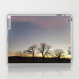 Autumn Sunset Silhouette - Pheasant Branch Conservancy Laptop & iPad Skin