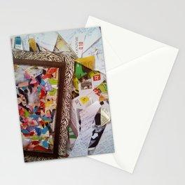 Tehakak Outlandish Art Brut Assemblage Stationery Cards