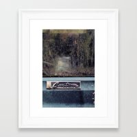 custom Framed Art Prints featuring Custom by PlaidRed