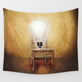 The Seat of Big Ideas Wall Tapestry