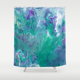 Abstract No. 465 Shower Curtain