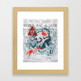 Speak No Evil by Handsome Lad Framed Art Print