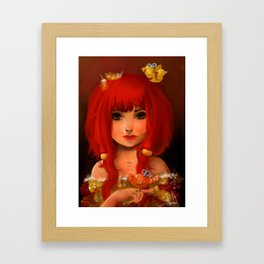 Birdy Framed Art Print