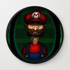 Sad Mario Wall Clock