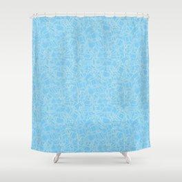 Geojumble Three Shower Curtain