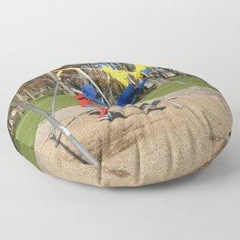 Free Spirits in Spandex Floor Pillow