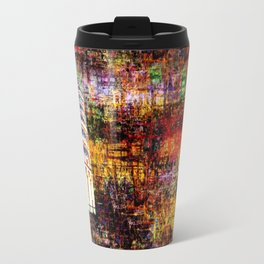Semi-Abstract Leaning Tower of Pisa Travel Mug