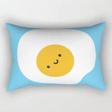 Kawaii Fried Egg Rectangular Pillow