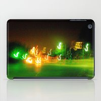 austin iPad Cases featuring Austin Lights by Robert McHugh