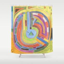 Alchemy 2 Shower Curtain