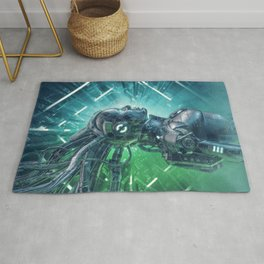The Little Carbon Girl Rug