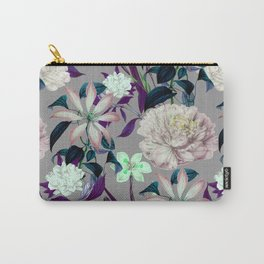 Flowery vintage pattern 0I Carry-All Pouch