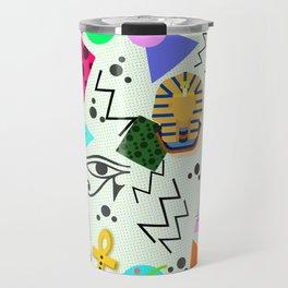 Egyptian Memphis Travel Mug