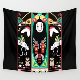 Spirited Deco Wall Tapestry