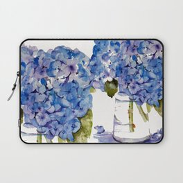 Hydrangea painting Laptop Sleeve