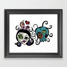 Voodoo Friends Framed Art Print