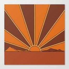 Sun Dreamer Canvas Print