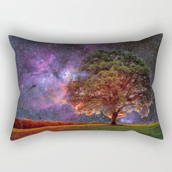 Galaxy Garden Rectangular Pillow