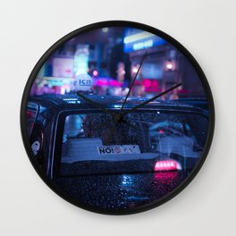 Step inside and let me show you around town Wall Clock