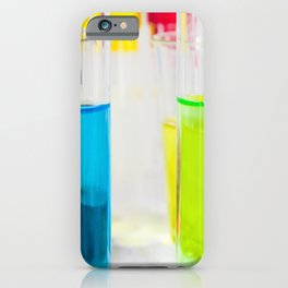 Laboratory chemical liquid elements  iPhone Case