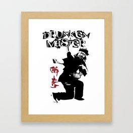 Old Drunken Master Framed Art Print