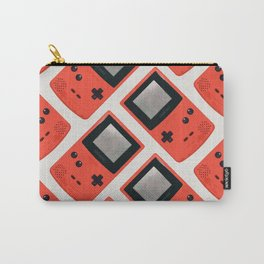 Gameboy Color: Red (Pattern) Carry-All Pouch