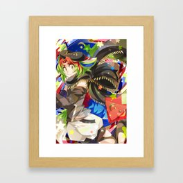 Primo The Planaria Fox Framed Art Print