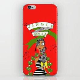 jinglebells iPhone Skin