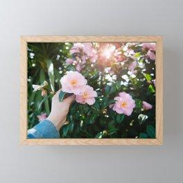 Camellia Framed Mini Art Print