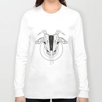capricorn Long Sleeve T-shirts featuring Capricorn by LydiaS