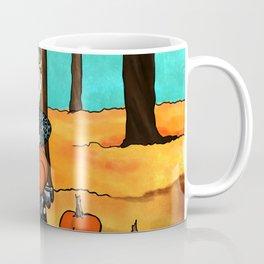 Pumpkin Picking Coffee Mug