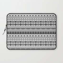 Aztec Black & White Laptop Sleeve
