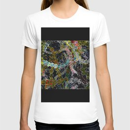 Abstract Beads T-shirt