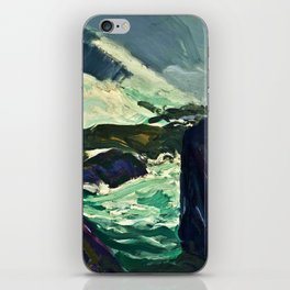 "George Wesley Bellows ""Rock Bound"" iPhone Skin"