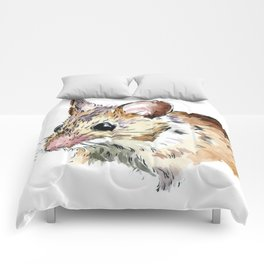 Little Brown Mouse Comforters