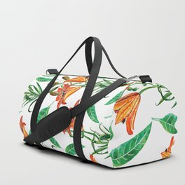 Floral Delight #society6 #decor #buyart Duffle Bag