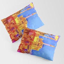 Istanbul Pop Art Pillow Sham
