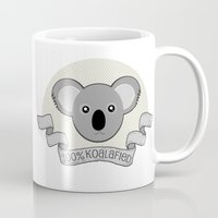 the 100 Mugs featuring 100% Koalafied by Cute to Boot