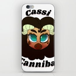 Cassi The Cannibal iPhone Skin