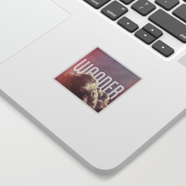Wander (square) Sticker