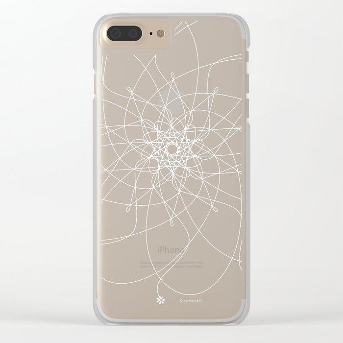 Ornament – Nightblu Blossom Clear iPhone Case