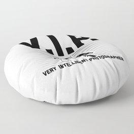VIP Photographer | Photography Camera Gift Ideas Floor Pillow