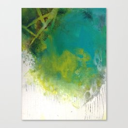Spirit Map Oceans Canvas Print