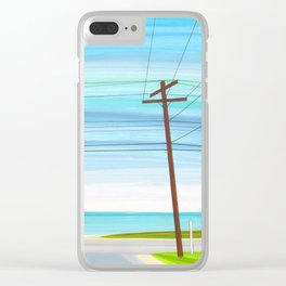Dawn of a New Day Clear iPhone Case