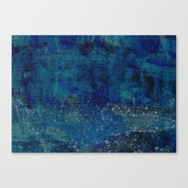 Turquoise Canyon Canvas Print